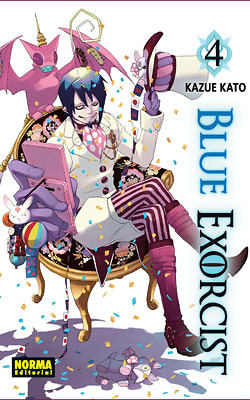 Blue exorcist nº 4