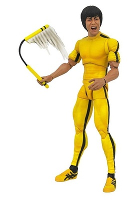 Bruce Lee Select Figura Yellow Jumpsuit 18 cm