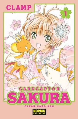CARD CAPTOR SAKURA CLEAR CARD ARC 1