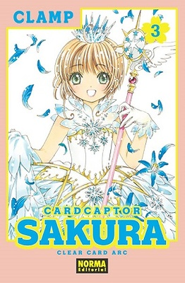 CARD CAPTOR SAKURA CLEAR CARD ARC 3
