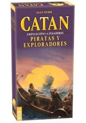 CATAN Piratas y Exploradores Ampliación 5 - 6 jugadores