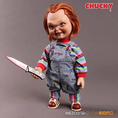 CHUCKY GOOD GUY MUÑECO CON SONIDO 38 CM CHILD'S PLAY