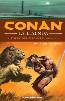 CONAN LA LEYENDA HC 3: LA TORRE DEL ELEFANTE Y OTRAS HISTORIAS