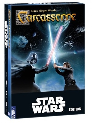Carcassonne edición Star Wars