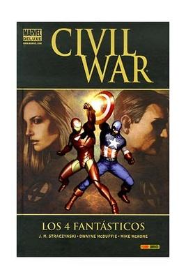 Civil War Los 4 Fantasticos