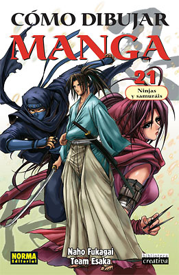 Como dibujar manga nº 21 Ninjas y samurais