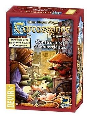 Constructores y Comerciantes Carcassonne Expansion