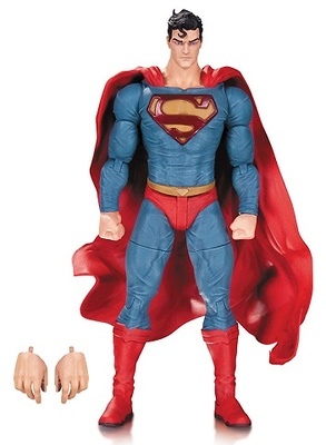 DC Comics Designer Figura Superman by Lee Bermejo 17 cm