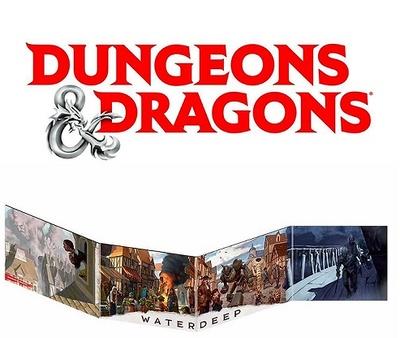 DUNGEONS & DRAGONS: PANTALLA DEL DUNGEON MASTER-WATERDEEP: EL GOLPE DE LOS DRAGONES