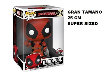 Deadpool Figura Super Sized POP! Vinyl Thumb Up Red Deadpool 25 cm