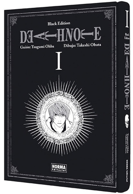 Death Note Black Edition nº 1