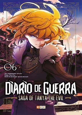 Diario de guerra - Saga of Tanya the evil núm. 06