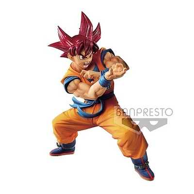 Dragon Ball GT Estatua PVC Blood of Saiyans Super Saiyan God Son Goku 17 cm