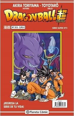Dragon Ball Serie Roja nº 213 / 216