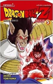 Dragon Ball Z Anime Series Saiyanos nº 5