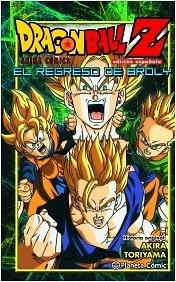 Dragon Ball Z El regreso de Broly Akira Toriyama