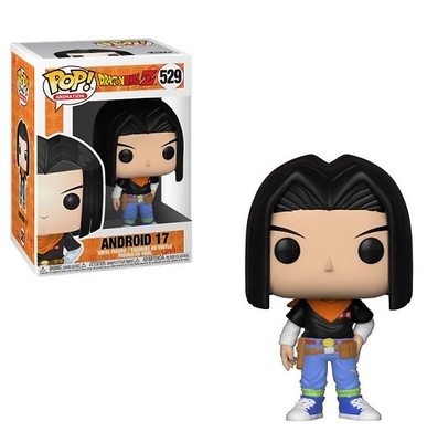 Dragonball Z Figura POP! Animation Vinyl Android 17 9 cm