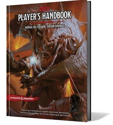 Dungeons & Dragons 5ª Edición Players Handbook - Manual del Jugador edición española