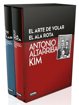 EL ARTE DE VOLAR Y EL ALA ROTA COFRE EDICIÓN COLECCIONISTA