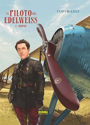 El piloto de Edelweiss nº 2 Sidonie