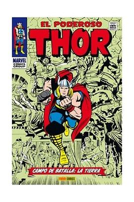 El poderoso Thor Campo de batalla la Tierra