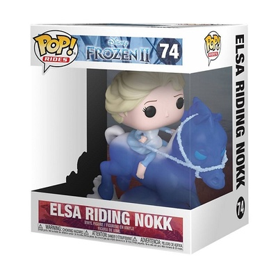 Frozen El Reino del Hielo 2 POP! Rides Vinyl Figura Elsa Riding Nokk 18 cm