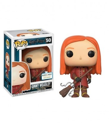 Funko POP! 50 Ginny in Quiditch Robes - Harry Potter