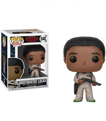 Funko POP! Ghostbuster Lucas Segunda Temporada - Stranger Things