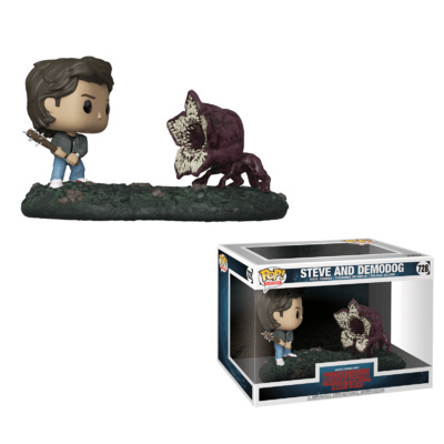 Funko Stranger Things Steve and Demodog (Movie Moments) 728