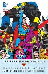 Grandes Autores de Superman John Byrne  Superman El hombre acero vol 3