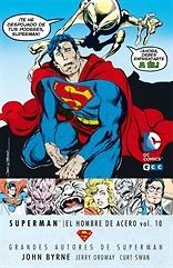 Grandes Autores de Superman John Byrne  Superman El hombre de acero nº 10