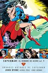 Grandes Autores de Superman John Byrne  Superman El hombre de acero nº 9