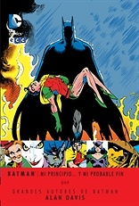 Grandes autores de Batman Alan Davis Mi principio y mi probable fin Segunda Edicion