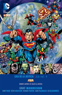 Grandes autores de la Liga de la Justicia: Grant Morrison  JLA nº 4