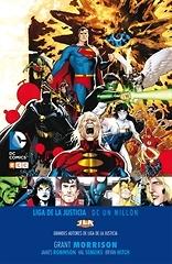 Grandes autores de la Liga de la Justicia Grant Morrison  DC Un millón