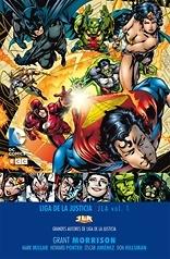 Grandes autores de la Liga de la Justicia Grant Morrison  JLA nº 1
