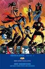 Grandes autores de la Liga de la Justicia Grant Morrison JLA nº 3