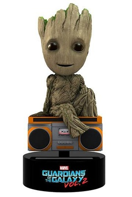 Guardianes de la Galaxia Vol. 2 Figura Movible Body Knocker Groot 15 cm