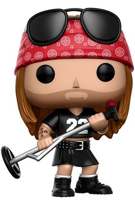 Guns N´ Roses POP! Rocks Vinyl Figura Axl Rose 9 cm