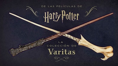 HARRY POTTER LA COLECCIÓN DE VARITAS