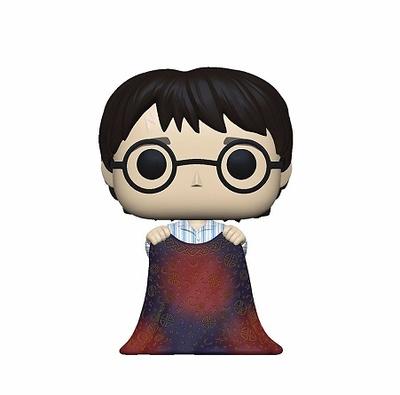 Harry Potter POP! Movies Vinyl Figura Harry w/Invisibility Cloak 9 cm