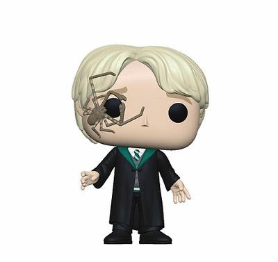 Harry Potter POP! Movies Vinyl Figura Malfoy w/Whip Spider 9 cm