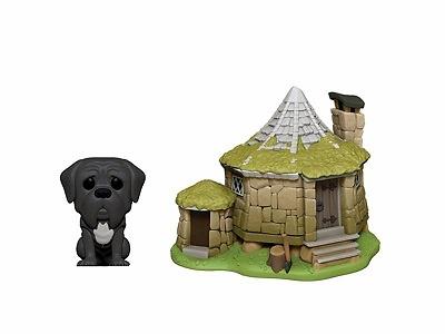 Harry Potter POP! Town Vinyl Figura Hagrid's Hut & Fang 9 cm