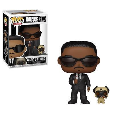Hombres de Negro POP! Movies Vinyl Figura Agent J & Frank 9 cm