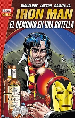 IRON MAN EL DEMONIO EN UNA BOTELLA (MARVEL GOLD)
