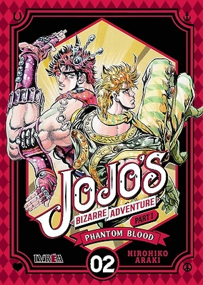JOJO'S BIZARRE ADVENTURE PARTE 1 PHANTOM BLOOD 2