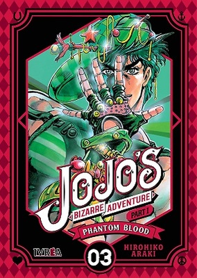 JOJO'S BIZARRE ADVENTURE PARTE 1 PHANTOM BLOOD 3