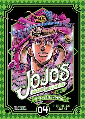 JOJO'S BIZARRE ADVENTURE PARTE 2: BATTLE TENDENCY 4