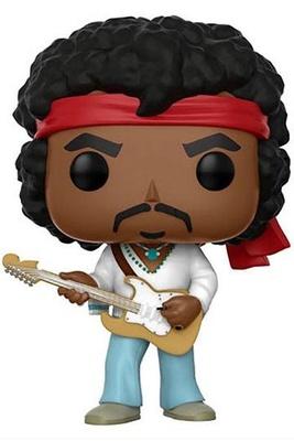 Jimi Hendrix POP! Rocks Vinyl Figura Jimi 9 cm