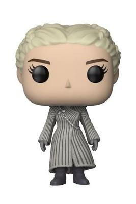 Juego de Tronos POP! Vinyl Figura Daenerys (White Coat) 9 cm